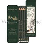 Grafitceruza készlet - Faber-Castell 5 Castell 9000 JUMBO