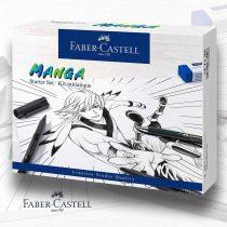 Manga-készlet - Faber-Castell Manga Starter Set