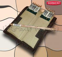 Ceruzakészlet – Derwent Coloursoft EXTRA feltekerhető ceruzatartóban