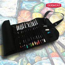 Ceruzakészlet – Derwent Studio feltekerhető ceruzatartóban