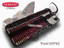 Ceruzakészlet – Derwent Pastel EXTRA feltekerhető ceruzatartóban - 32