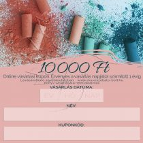 Ajándékkupon ONLINE (ajándékutalvány) 10 000 Ft