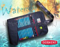 Watercolor Pencil Set with Pencil Holder - Derwent Collection