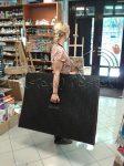 Művésztáska - Esőálló cipzáras papír és rajztáblatartó táska - B/1