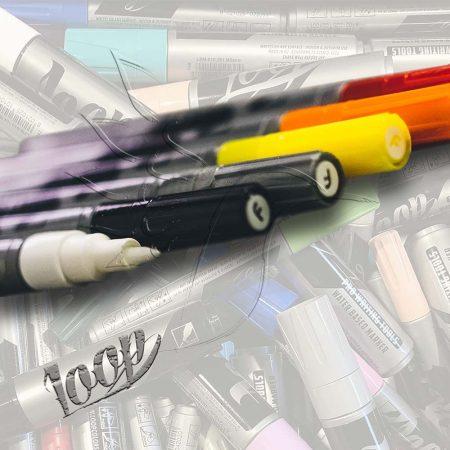 Dekorfilc - Loop Marker 1mm - White