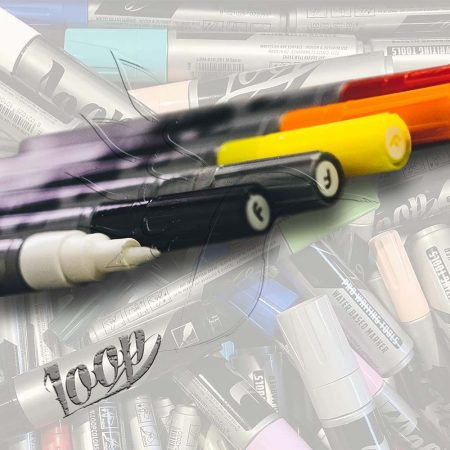 Decorative Pen - Letraset Promarker double-ended alcohol based decor felt pen - different colors!
