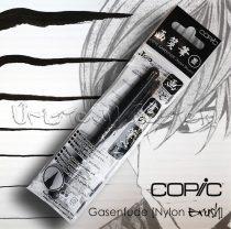 Ecsetfilc - Copic Gasenfude [Nylon Brush], ecsetvégű tustoll