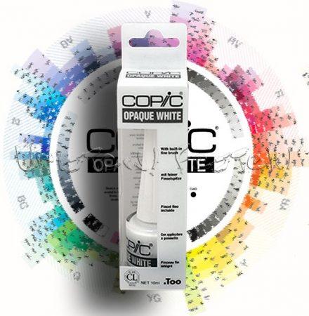 Speciális fényeffekt festék - Copic OPAQUE WHITE 7ml