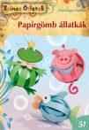 Papírgömb állatkák - Christiane Steffan - Színes Ötletek sorozat