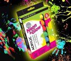 Akrilfesték készlet - Daler-Rowney Simply Acrylic Neon & Glow