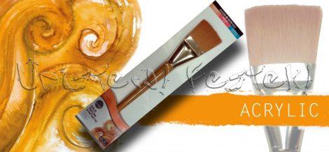 Ecset - Daler-Rowney Simply Gold Taklon Synthetic - szintetikus, extra széles lazúrozó, 5cm