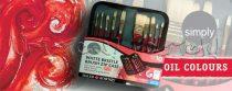 Ecsetkészlet - Daler-Rowney Simply White Bristle Brush Zip Case 10db