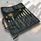 Ecsetkészlet ecsettartóban - Daler-Rowney Brushes & Brush Roll 11pcs