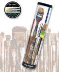 Brush Set - Da Vinci NOVA SYNTETICS Oil / acrylic artist brush tin  box - 10pcs