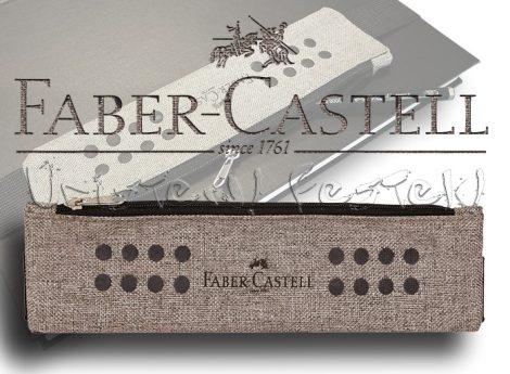 Ceruzatartó - Faber-Castell Grip - vázlatfüzetre rögzíthető, cipzáros (üresen)