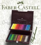 Színesceruza készlet - Faber-Castell Polychromos 72 szín Fadobozban