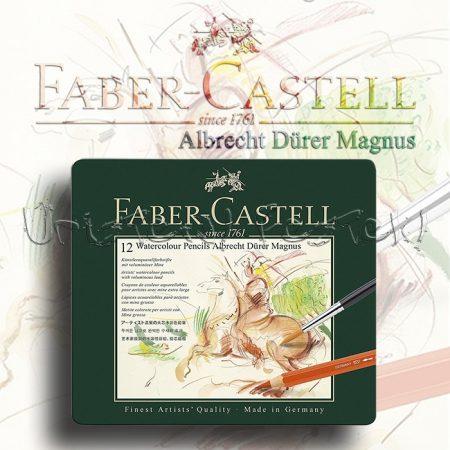 Akvarellceruza készlet - Faber-Castell 12 Watercolour Pencils Albrecht Dürer Magnus