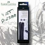 Szénkészlet - Faber-Castell Natural Charcoal Set - KÜLÖNBÖZŐ KISZERELÉSBEN