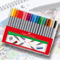 Faber-Castell 20 Grip Finepen 0.4mm Set