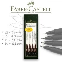 Faber-Castell Artist Brush Pen- different thicknesses - different color lines and packaging!