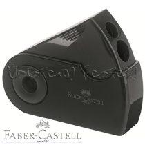 Hegyező - Faber-Castell Doble Hole Sharpener tartályos kézi - kétlyukú