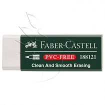 Faber-Castell Eraser Cap PVC-FREE - 6pcs/set