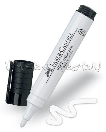 Filc - Faber-Castell Pitt Artist Pen - White pen