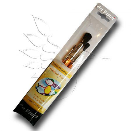 Ecsetkészlet - Da Vinci Fine Hair brushes 3pcs - póniszőr
