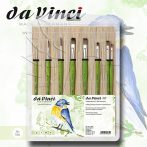 Ecsetkészlet - Da Vinci FIT Hobby Painting Brushes in Bamboo Mat 8pcs