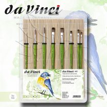 Ecsetkészlet - Da Vinci FIT Hobby Painting Brushes in Bamboo Mat 8pcs