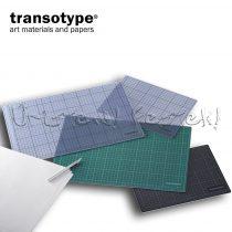 Vágóalátét, ÁTLÁTSZÓ - Transotype Trasparent Cutting Mat