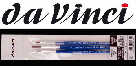 Da Vinci Forte Basic Brush Set - 3pcs