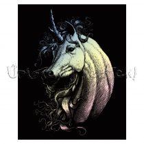 Képkarcoló készlet karctűvel - Royal&Langnickel Engraving ART - HOLOGRAFIKUS II - 20x25cm