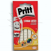 Pritt Multi Tack Reusable & Removable Adhesive 65pcs