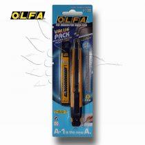 Sniccer, vágókés - OLFA Standard Auto-Lock Cutter 9mm