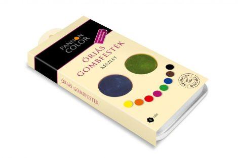 Tempera készlet - Pannoncolor Óriás gombfesték - 8 színű