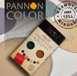 Tempera készlet - Pannoncolor Óriás gombfesték - ÚJ, KIEGÉSZÍTŐ - 8 színű