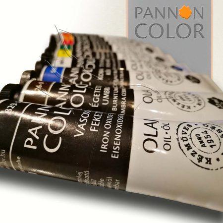Olajfesték - Pannoncolor Művészfesték 22ml - égetett sziéna 821-1