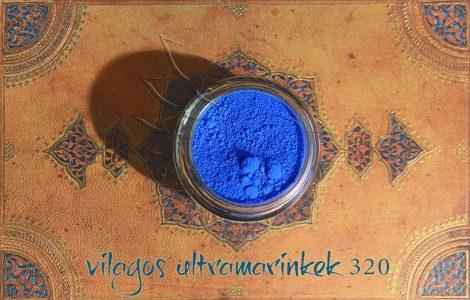 Pigment - Kék árnyalatok