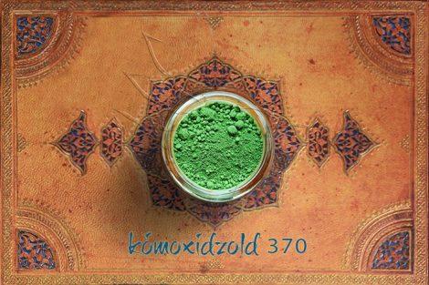 Pigment - Zöld árnyalatok