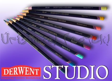 Colored pencil - Derwent Studio