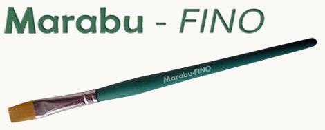 Brush - Marabu fine synthetic flat - different sizes!