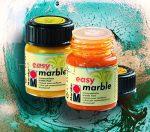 Márványozó festék - Marabu Easy Marble 15ml - KÜLÖNBÖZŐ SZÍNEKBEN