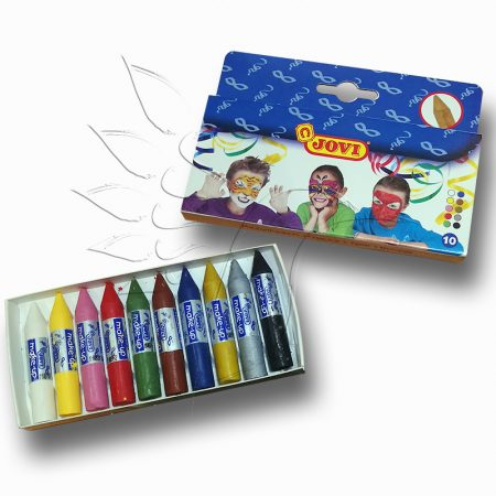 Testfesték, arcfesték - Jovi Make Up Crayon Set - 10pcs