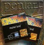 Füstfólia - Pentart Metal Leaf - KÜLÖNBÖZŐ SZÍNEKBEN!
