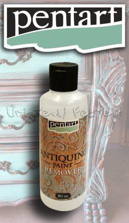 Festék Eltávolító Antikoló festékhez - Pentart Antiquing Paint Remover 80ml