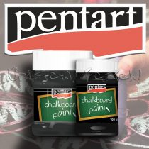 Táblafesték - Pentart Chalkboard Paint - fekete - KÜLÖNBÖZŐ KISZERELÉSBEN