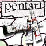 Kontúrfesték - Pentart Contour Liner 20ml - KÜLÖNBÖZŐ SZÍNEKBEN