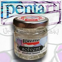 Oldószer - Pentart Solvent ALCOHOL based 30ml