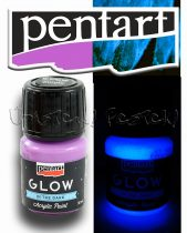 Akrilfesték - Pentart GLOW in the dark 30ml